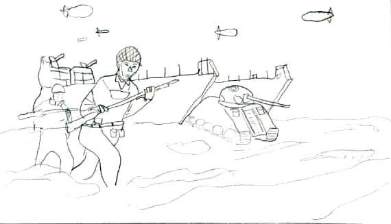 De toute l histoire voici des dessins sur la secondes guerre